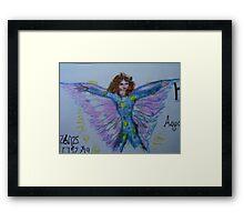 Jilly, Horoscope Fairy Framed Print