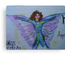 Jilly, Horoscope Fairy Canvas Print