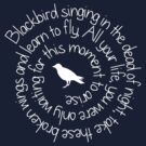 Blackbird - White by Leah Price