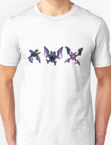 Zubat evolution (Gen 2) Unisex T-Shirt