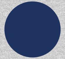 Circle Blue One Piece - Long Sleeve