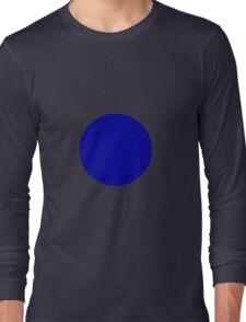 Circle Blue Long Sleeve T-Shirt