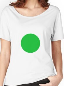 Circle Green Women's Relaxed Fit T-Shirt