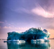 Lonely Iceberg by Wei Hao Ho