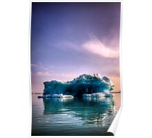 Lonely Iceberg Poster