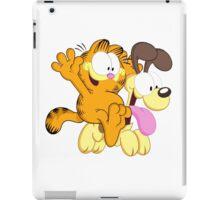 Garf happy Ride! iPad Case/Skin