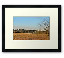 View Across the Lowlands Framed Print