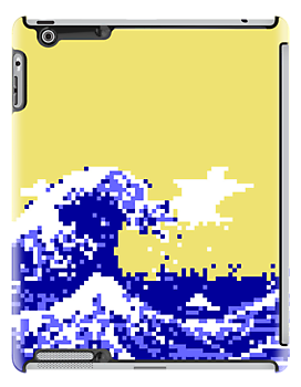 Pixel Tsunami by tinybiscuits