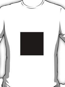 Square Black T-Shirt