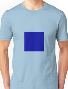 Square Blue Unisex T-Shirt