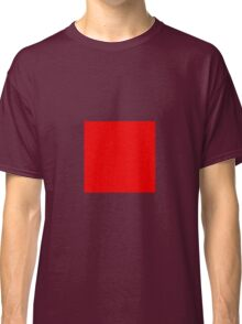 Square Red Classic T-Shirt