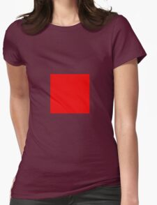 Square Red T-Shirt