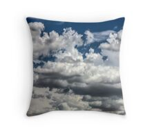 Clouds on the road to Tucson Throw Pillow