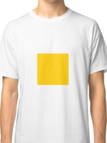 Square Yellow Classic T-Shirt