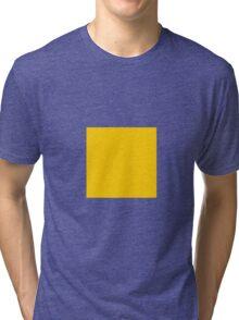 Square Yellow Tri-blend T-Shirt
