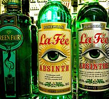 Absinthe. Paranoia inducing, n'est pas? by RightSideDown