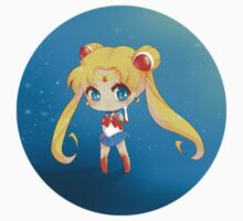 "3.0"" Sailor Moon Chibi Sticker by AndreaJacqLee"