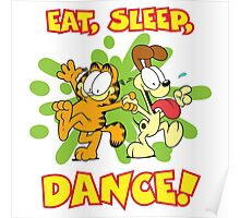 Eat Sleep Dance Poster