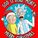 Rick & Morty -  Merry Christmas by Cosmodious
