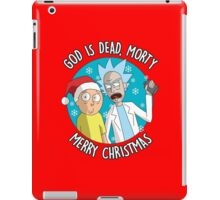Rick & Morty -  Merry Christmas iPad Case/Skin