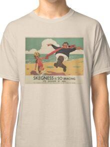Vintage poster - Skegness Classic T-Shirt