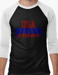USA Drinking Team Men's Baseball ¾ T-Shirt