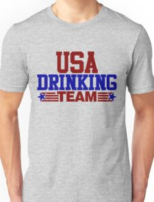 USA Drinking Team Unisex T-Shirt