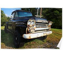 Chevrolet Apache in All it's Glory Poster