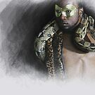 The man....the snake by Jeff Burgess