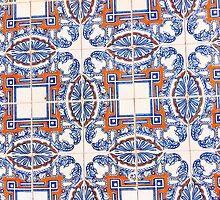 Portugal Tile Number Twenty Seven by Michael Kienhuis