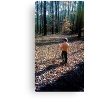 Boy in Nature Canvas Print
