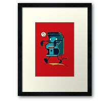 Zombie Arcade - Prints, Stickers, iPhone & iPad Cases Framed Print
