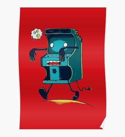 Zombie Arcade - Prints, Stickers, iPhone & iPad Cases Poster