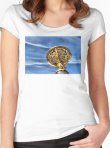 Star Mapping Women's Fitted Scoop T-Shirt
