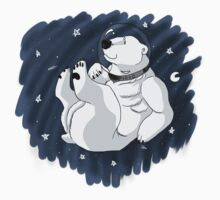 Space Bear in Space! Kids Clothes