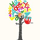 Sleep All Day (Alphabet tree) by Budi Satria Kwan