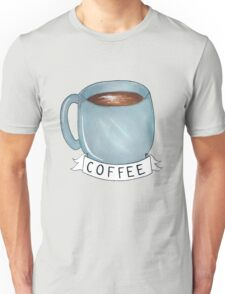 banner of coffee Unisex T-Shirt