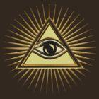 Eye Of Providence - All Seeing Eye Of God - Symbol Omniscience by nitty-gritty