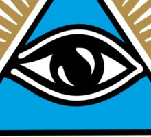 All Seeing Eye Of God - Eye Of Providence - Symbol Omniscience Sticker