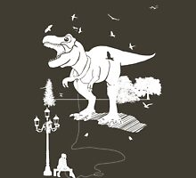 Playtime Dinosaur - White Unisex T-Shirt
