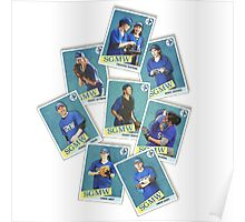Grey's Anatomy - Baseball Cards Poster