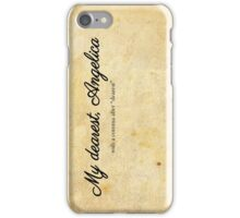 My dearest, Angelica iPhone Case/Skin