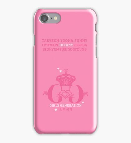 Girls Generation Tiffany iPhone Case iPhone Case/Skin