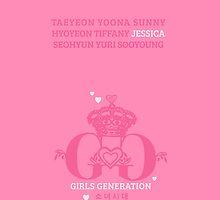 Girls Generation Jessica iPhone Case by goyangi