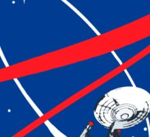 STARFLEET / NASA //without text// Sticker