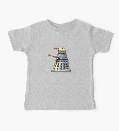 Vintage Look Doctor Who Dalek Graphic Baby Tee