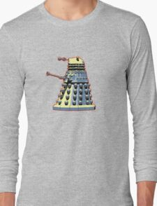 Vintage Look Doctor Who Dalek Graphic Long Sleeve T-Shirt
