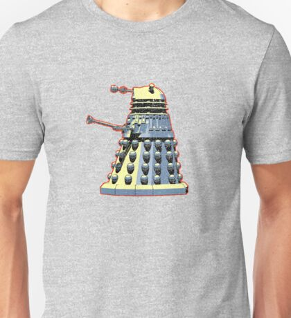 Vintage Look Doctor Who Dalek Graphic Unisex T-Shirt