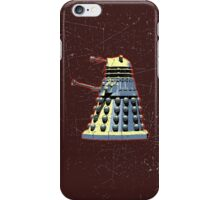 Vintage Look Doctor Who Dalek Graphic iPhone Case/Skin