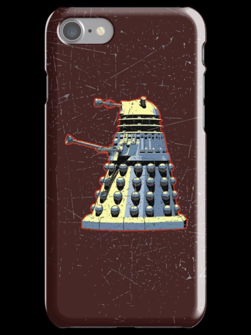 Vintage Look Doctor Who Dalek Graphic by VintageSpirit